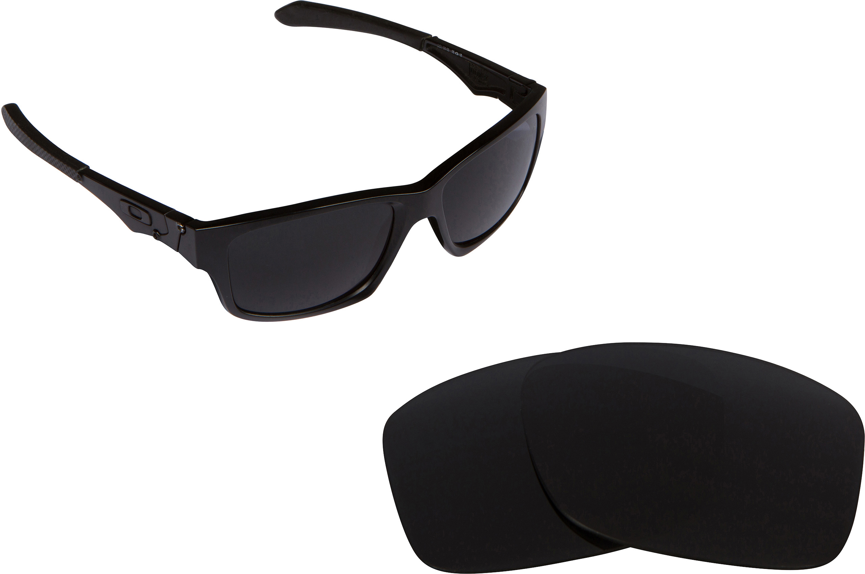 7ea0e0175a Seek Polarized Replacement Lenses for Oakley Jupiter Carbon Grey