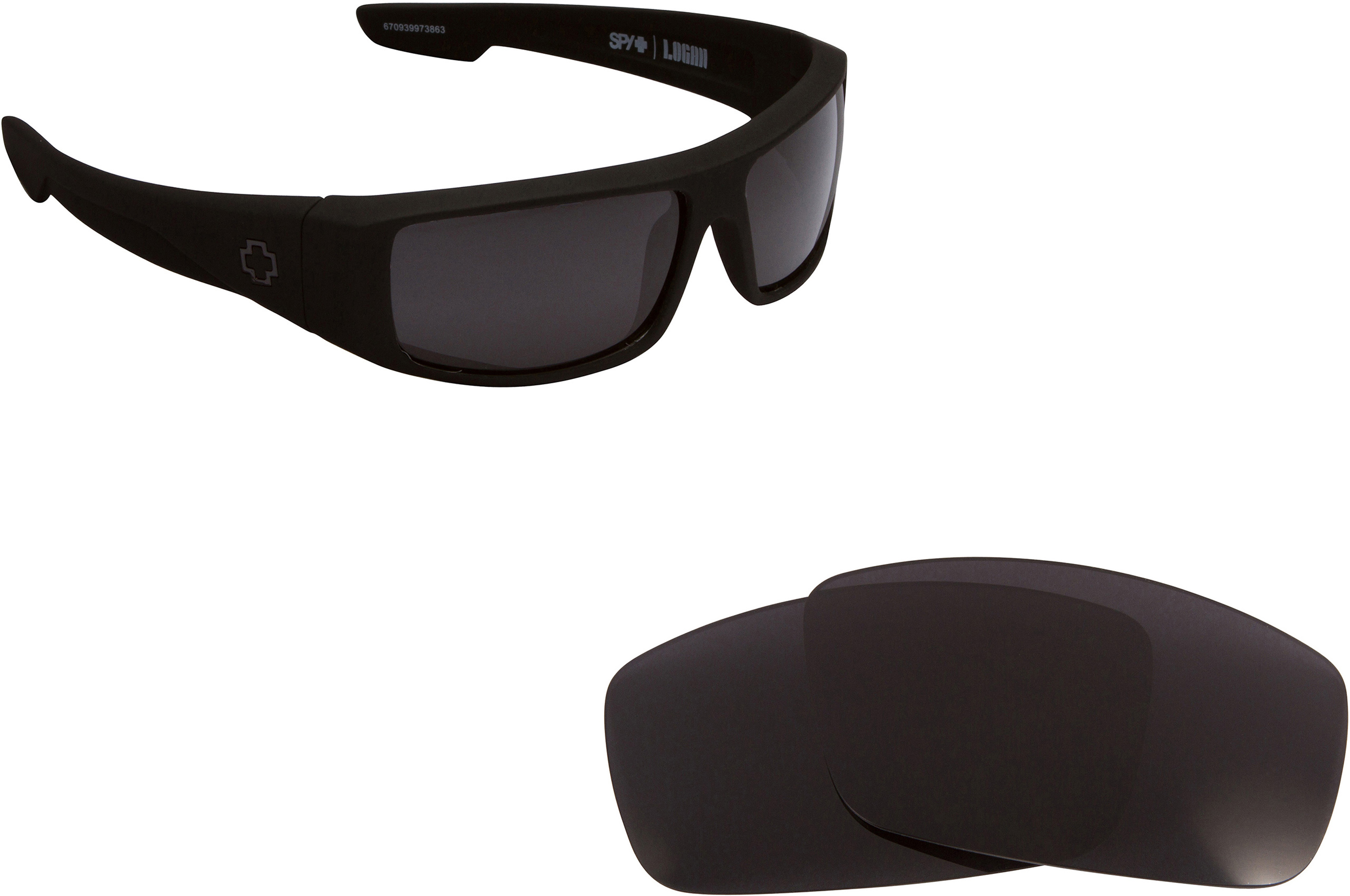 0897172abb4 LOGAN Replacement Lenses by SEEK OPTICS to fit SPY OPTICS Sunglasses ...