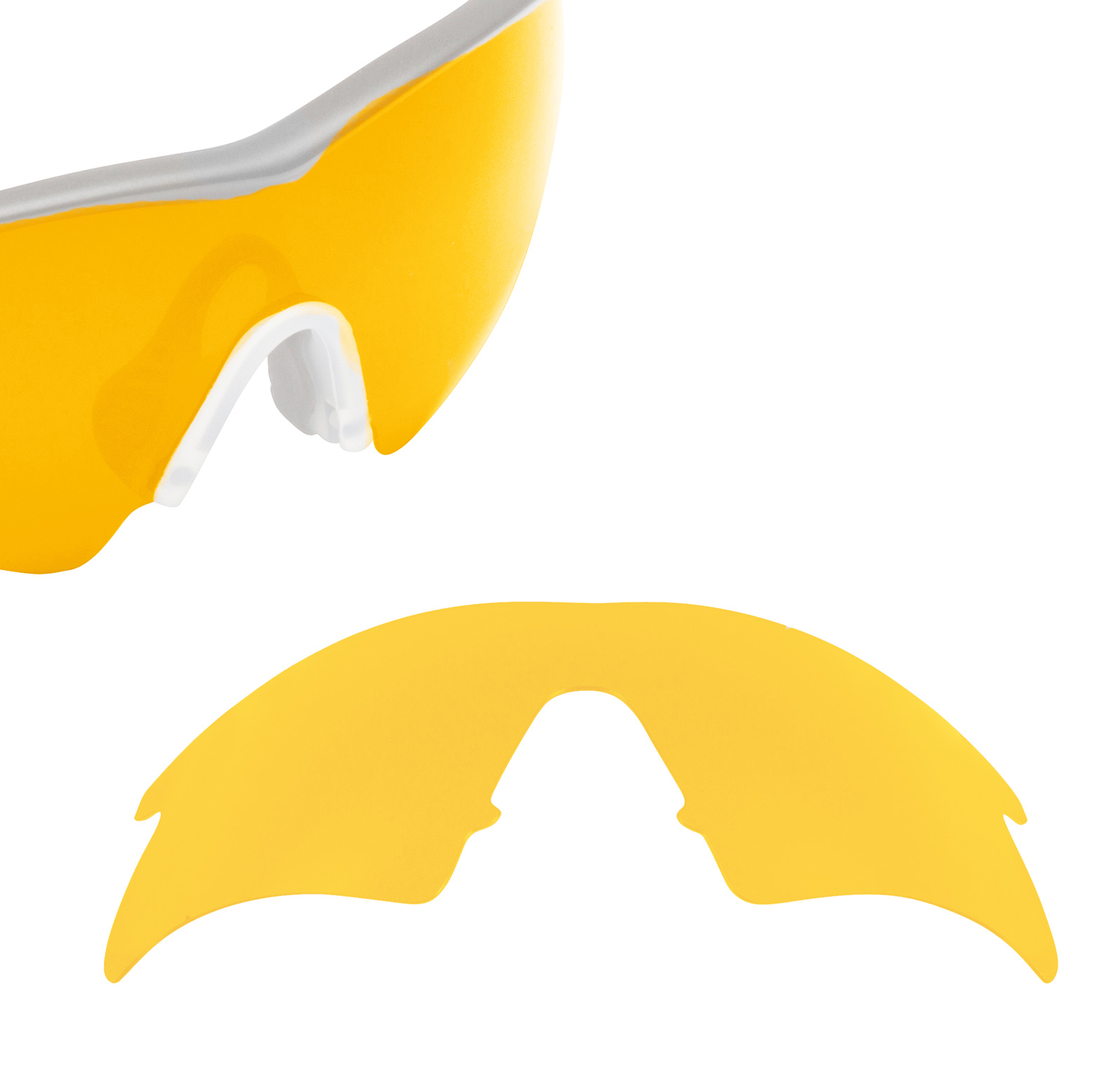 16c868b2034 Oakley M FRAME STRIKE - Hi Intensity Yellow Polarized - Seek Optics