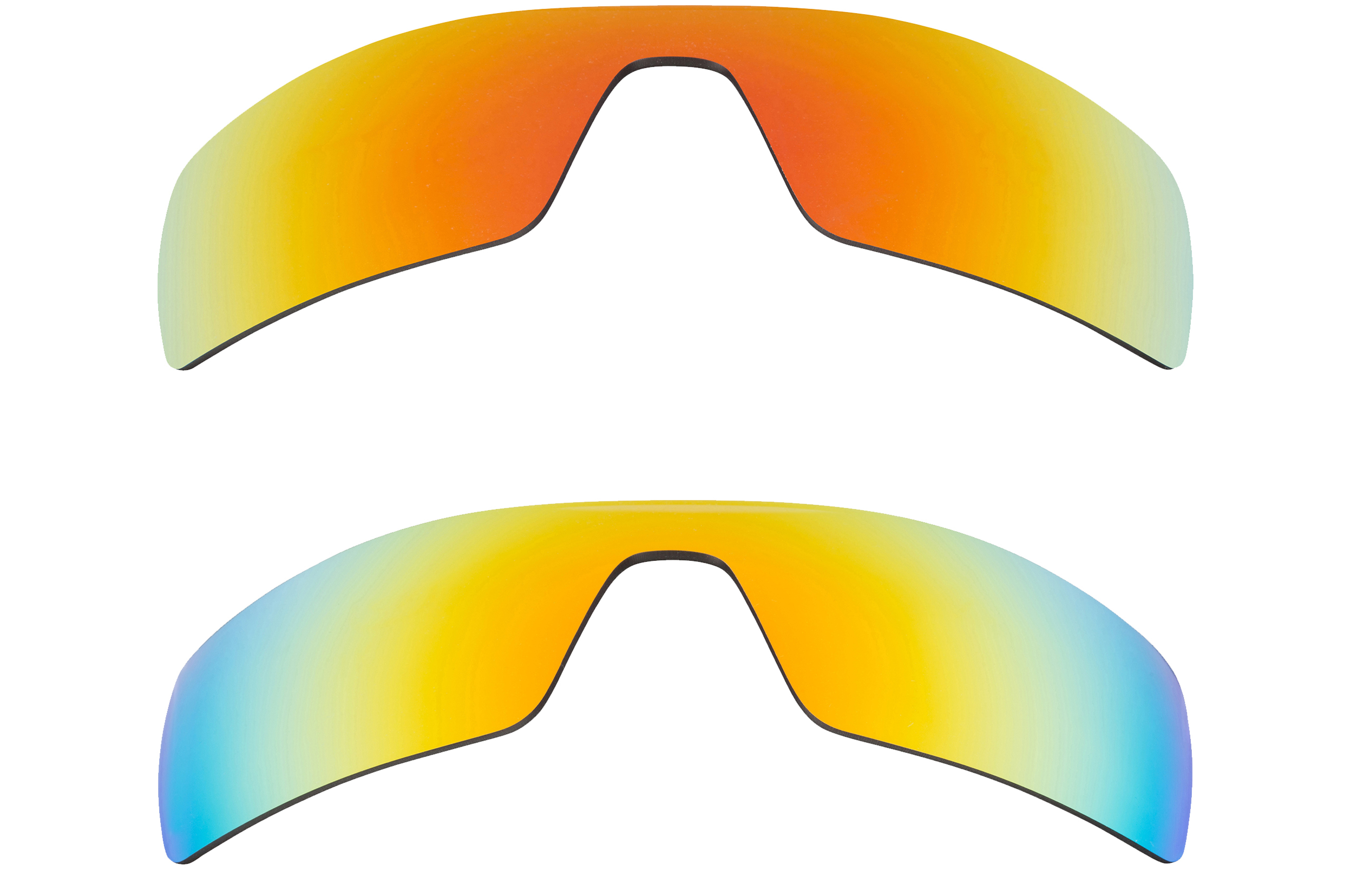 1af9a72b18 Details about Oil Rig Replacement Lenses Red   Yellow by SEEK fits OAKLEY  Sunglasses