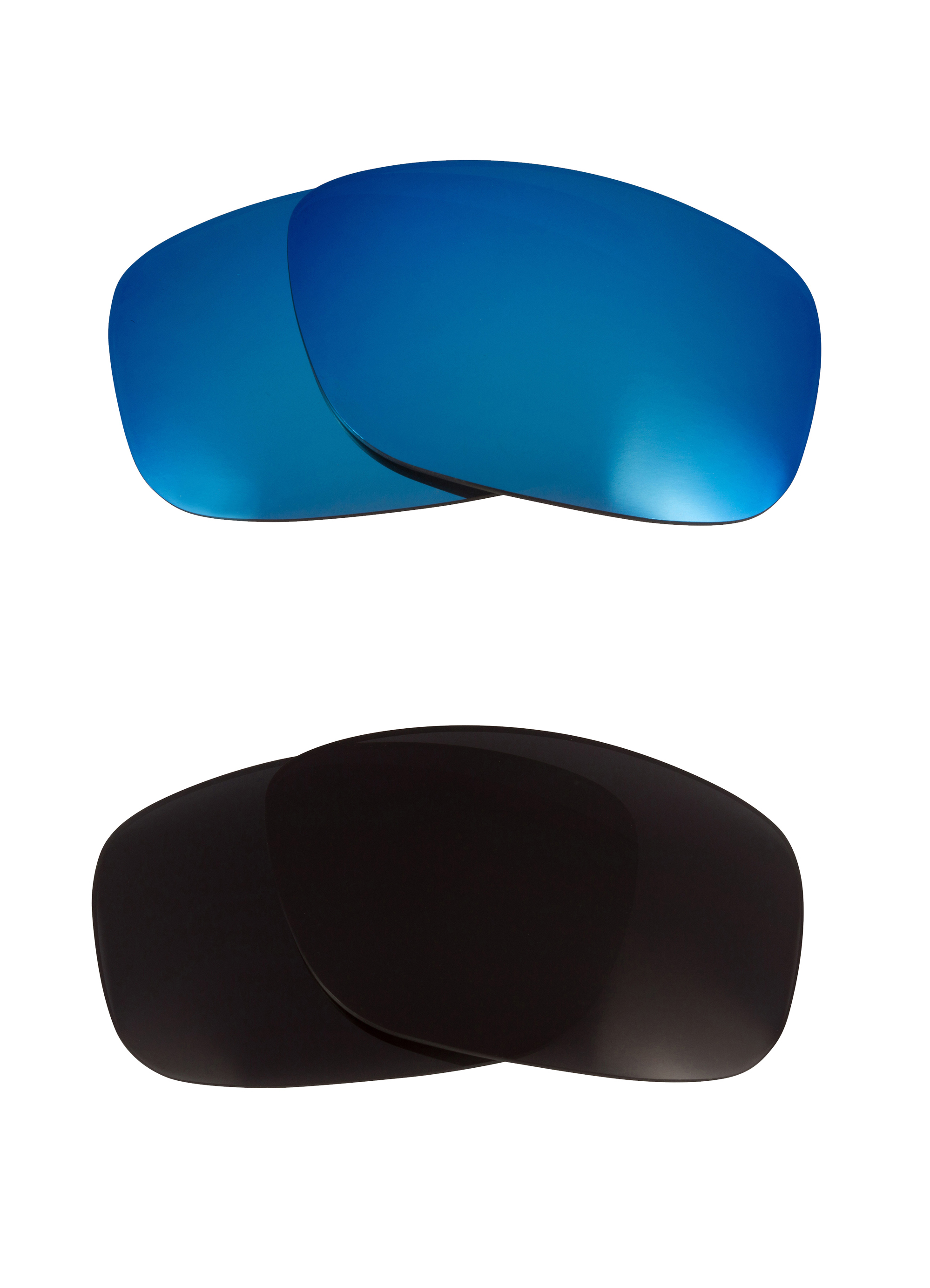 a194e89b1f Details about Thinlink ASIAN Replacement Lenses Black   Blue by SEEK fits  OAKLEY Sunglasses