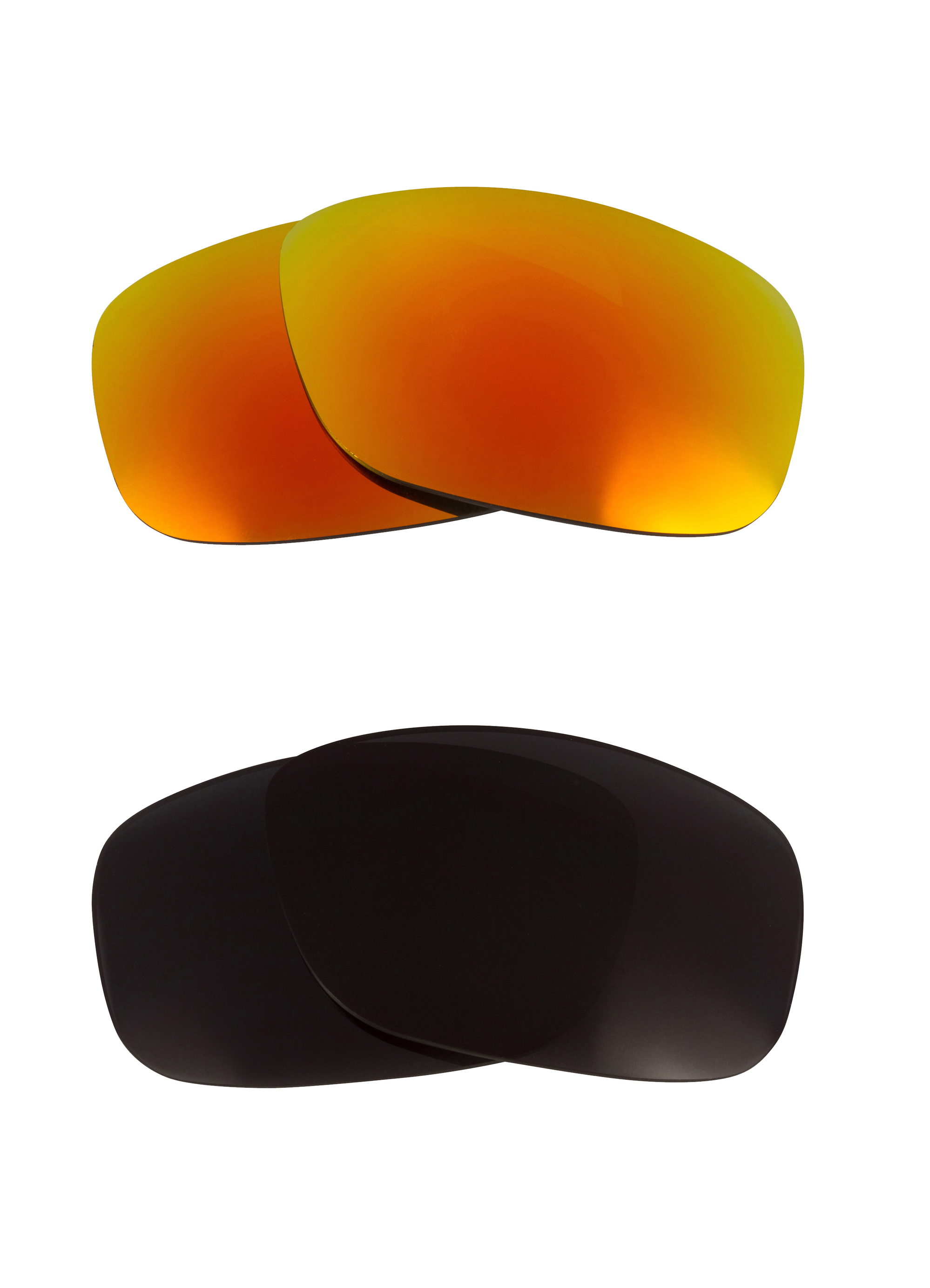 67256c95bb8 Half Jacket Replacement Lenses Black   Yellow by SEEK fits OAKLEY Sunglasses