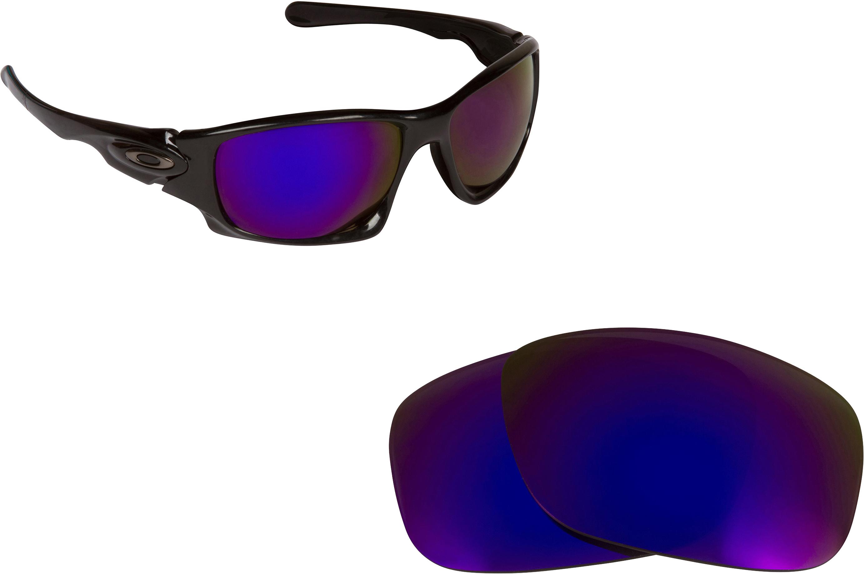814d6d425b Ten X Replacement Lenses by SEEK OPTICS to fit OAKLEY Sunglasses