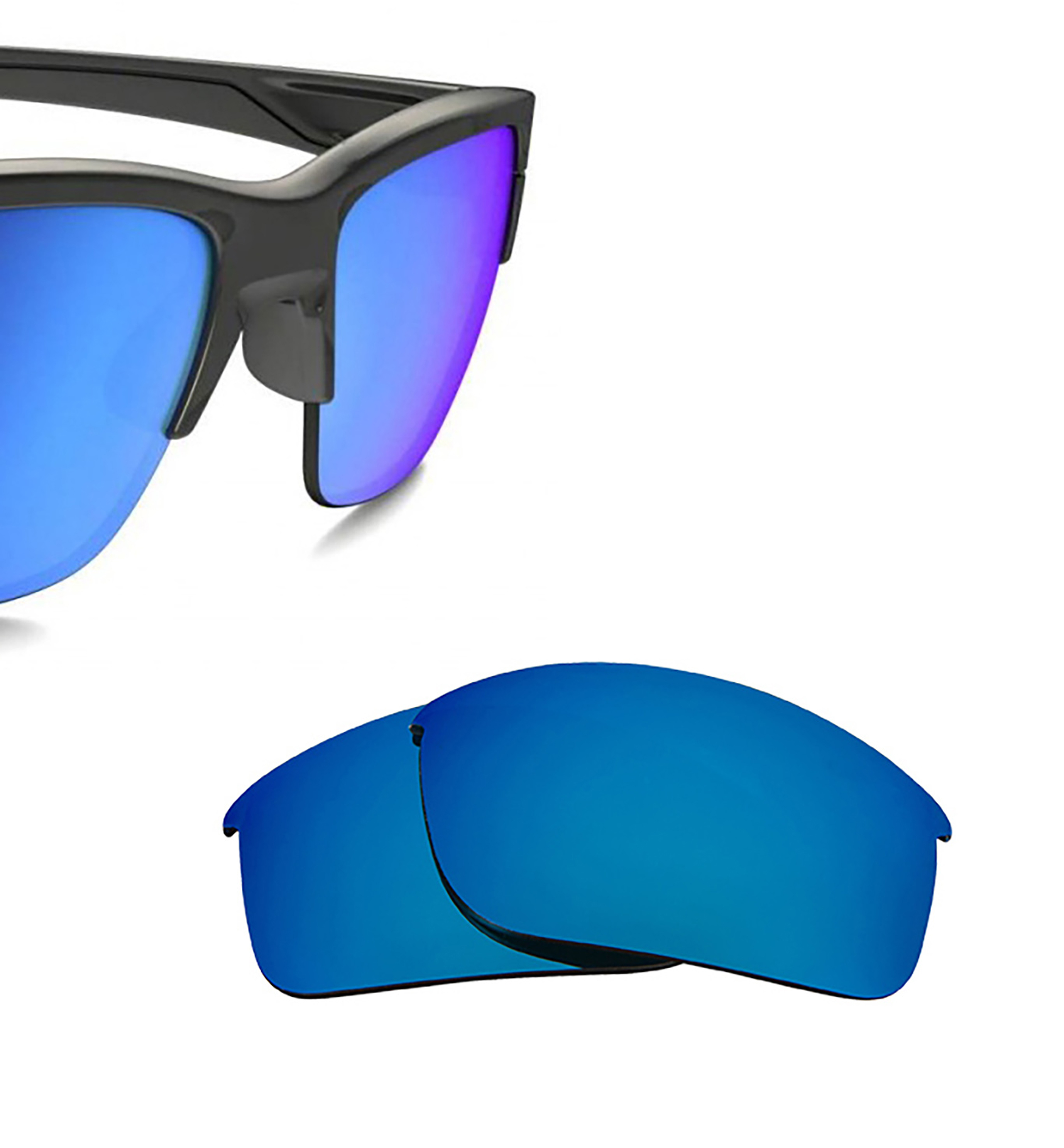 9155b2df5f Thinlink Replacement Lenses by SEEK OPTICS to fit OAKLEY Sunglasses ...