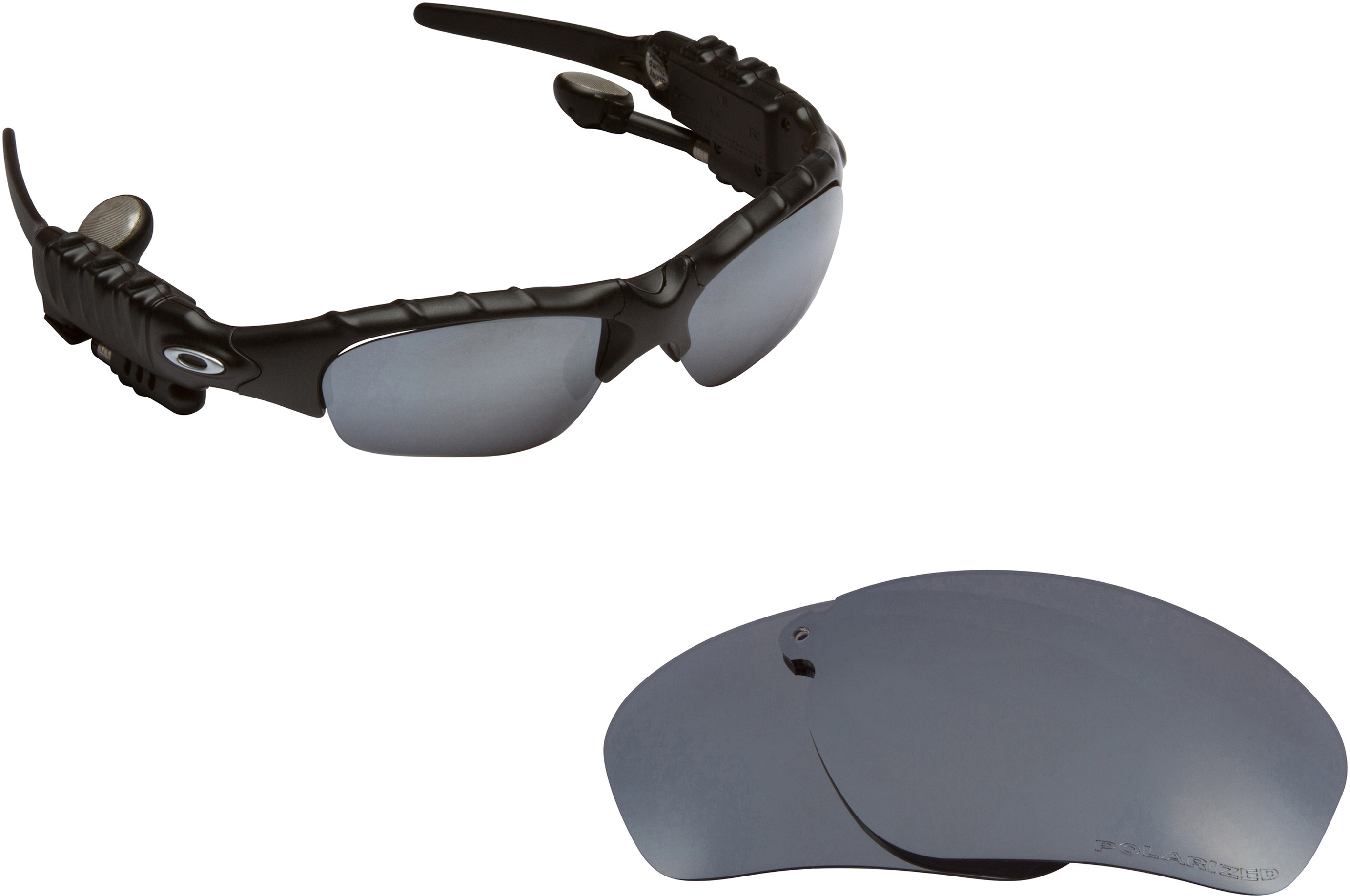 cca2882a6d0 THUMP Replacement Lenses by SEEK OPTICS to fit OAKLEY Sunglasses