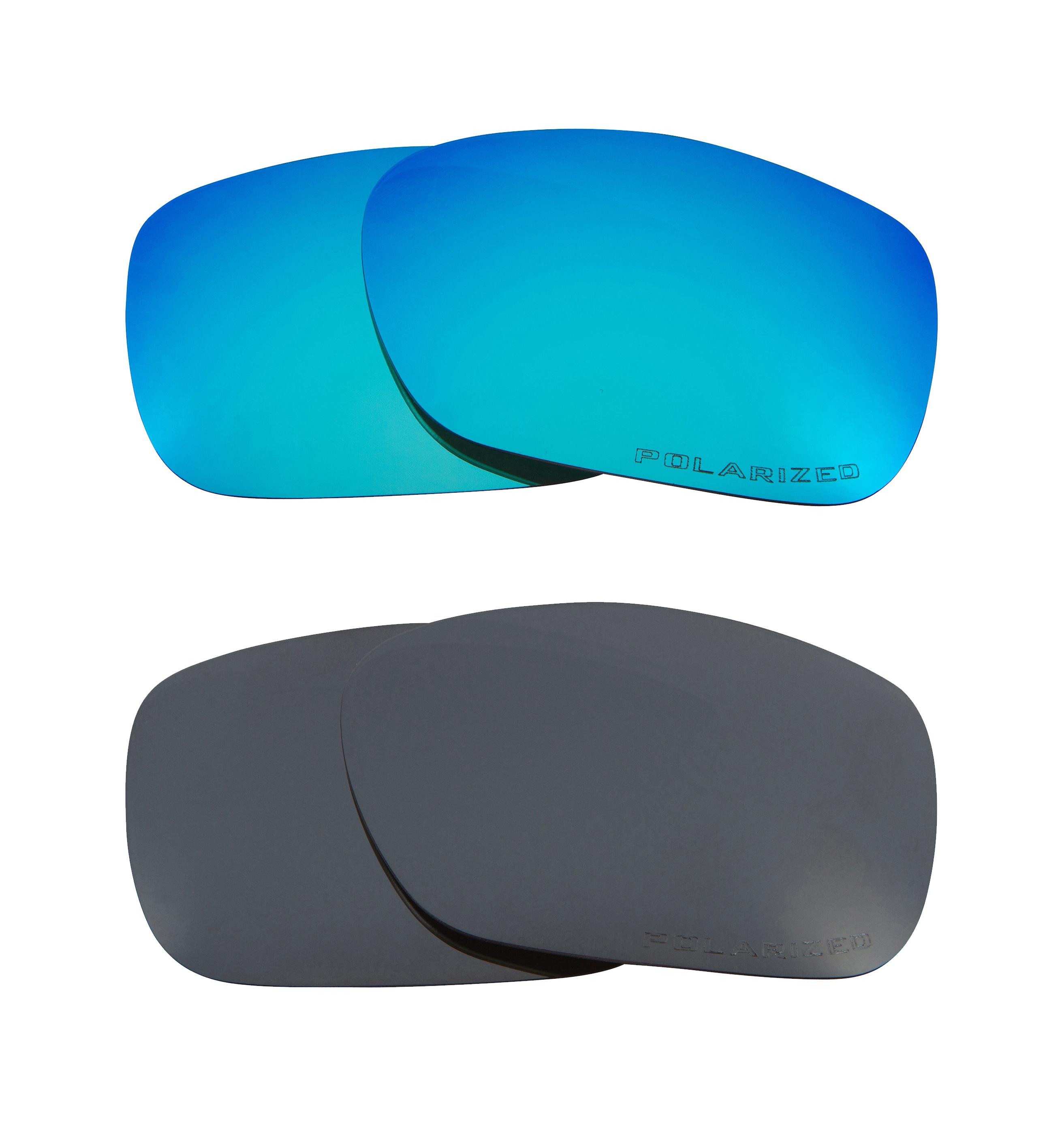 20d5e42c61 TWOFACE Replacement Lenses Polarized Blue   Black Iridium by SEEK fits  OAKLEY
