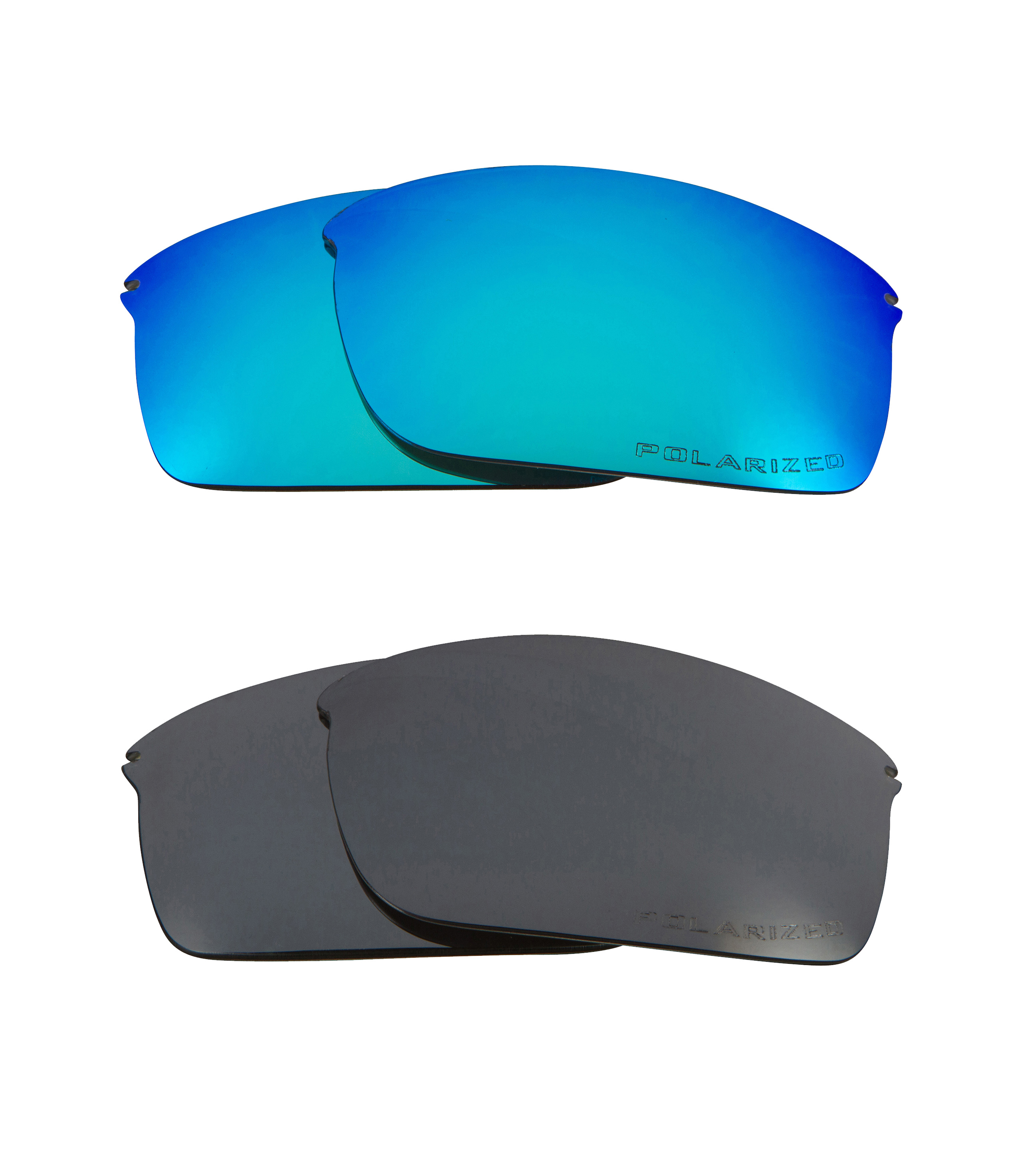 618ca487b8 WIRETAP Replacement Lenses Polarized Blue   Black Iridium by SEEK fits  OAKLEY