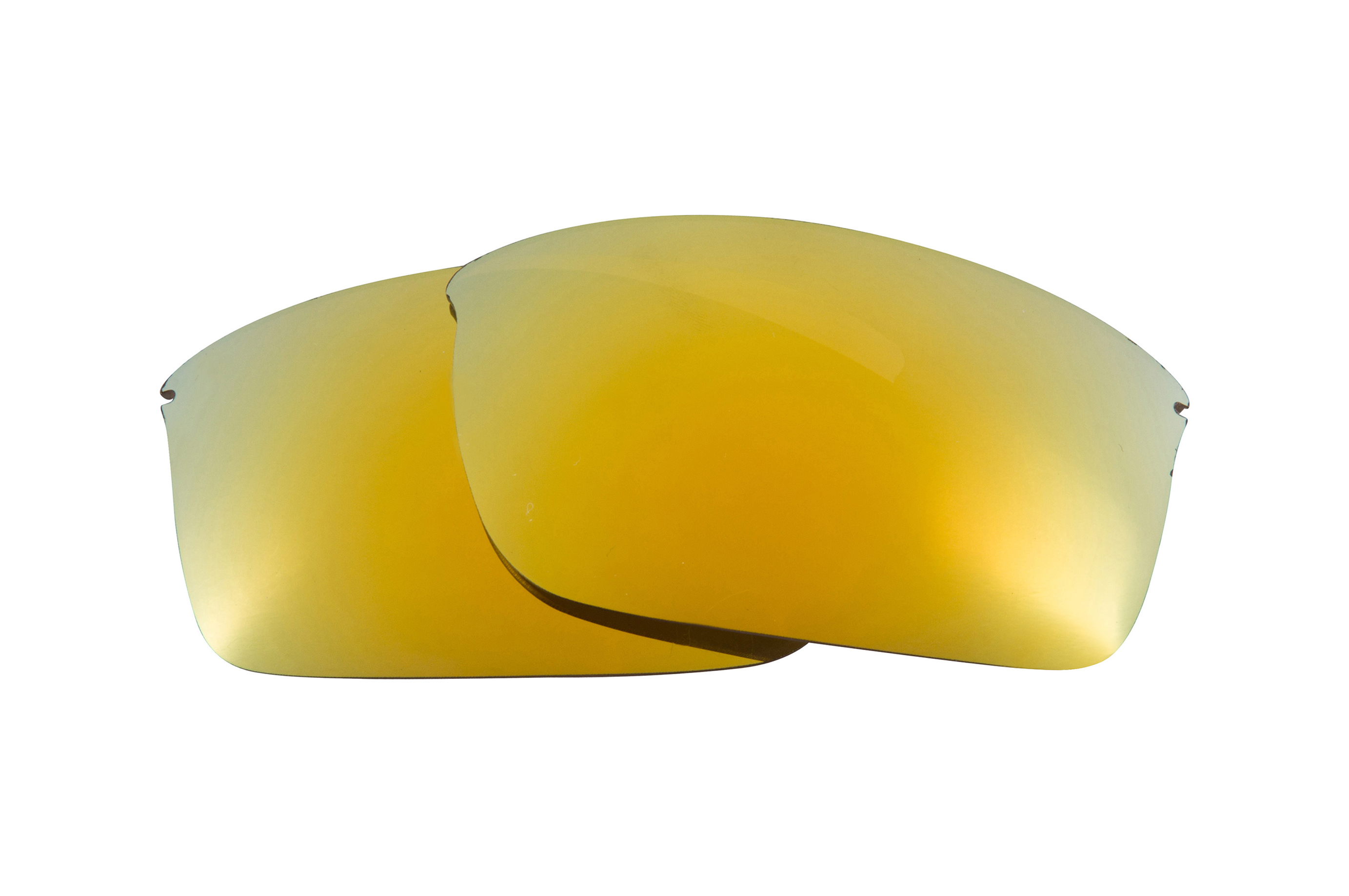 fbb08ed45b Seek Optics Replacement Lenses for Oakley Wiretap Gold Mirror