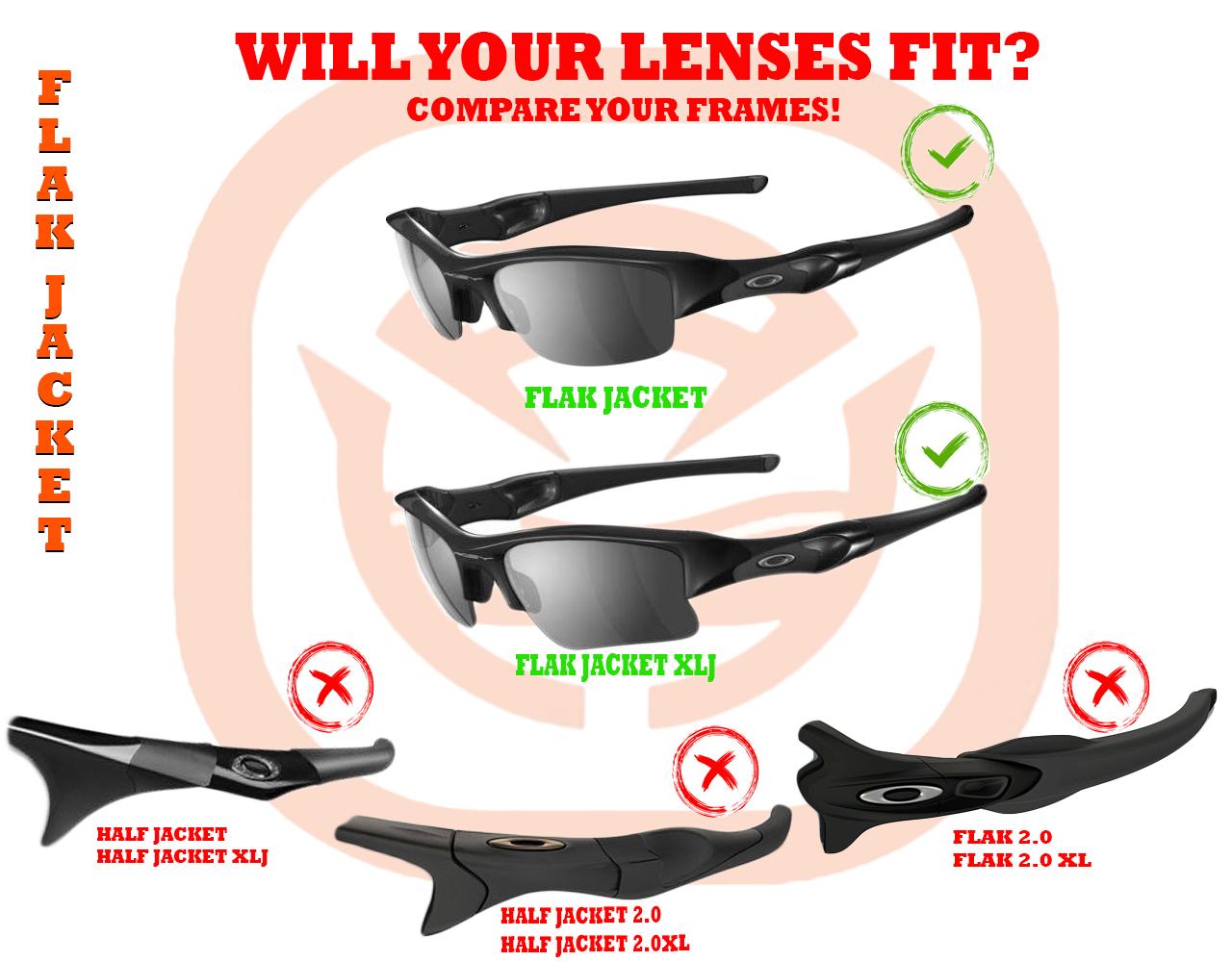b22ae2bb3f FLAK JACKET XLJ Replacement Lenses   Accessories Kit by SEEK OPTICS ...