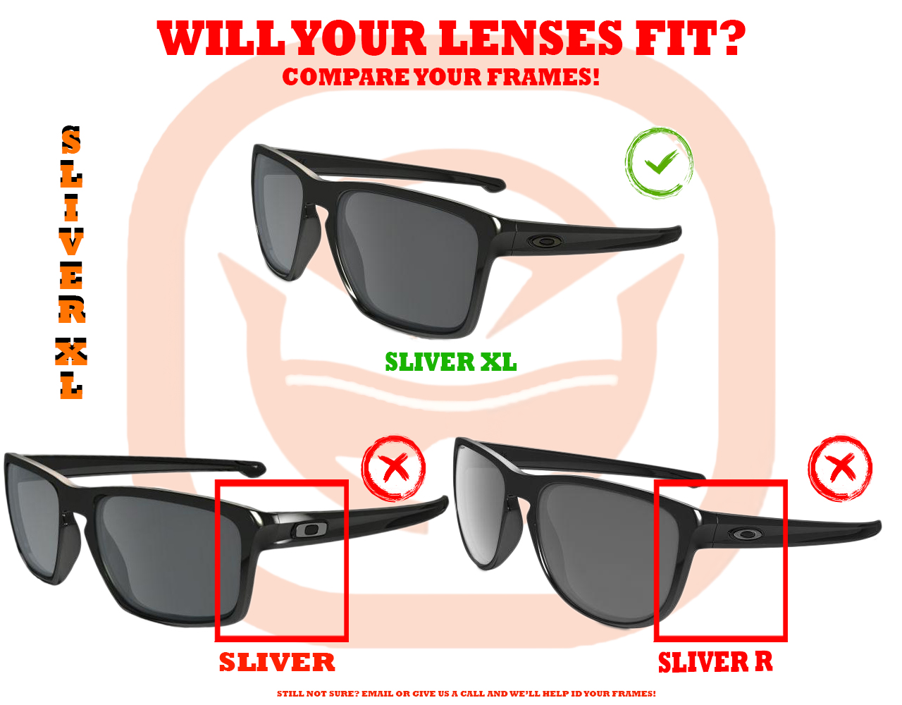f40ab6a638 Sliver XL Replacement Lenses by SEEK OPTICS to fit OAKLEY Sunglasses ...