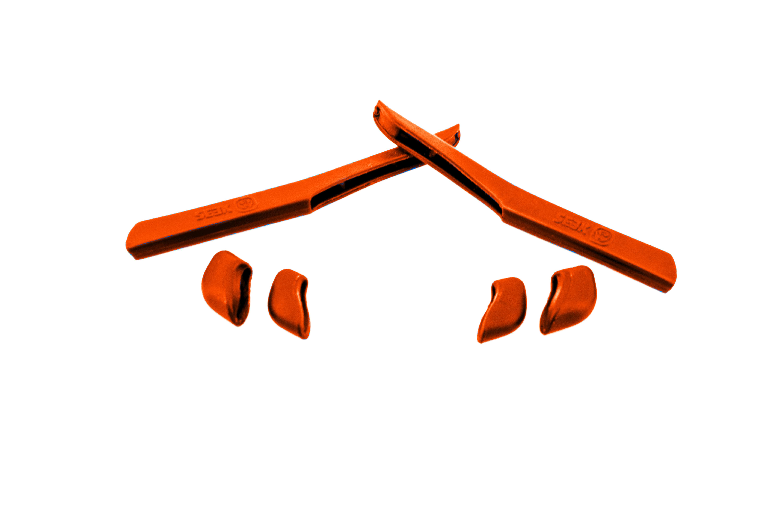 Terminali Rosso Nosepads Da Seek Per Giacca Veloce Accessori Kit vgwtOOA