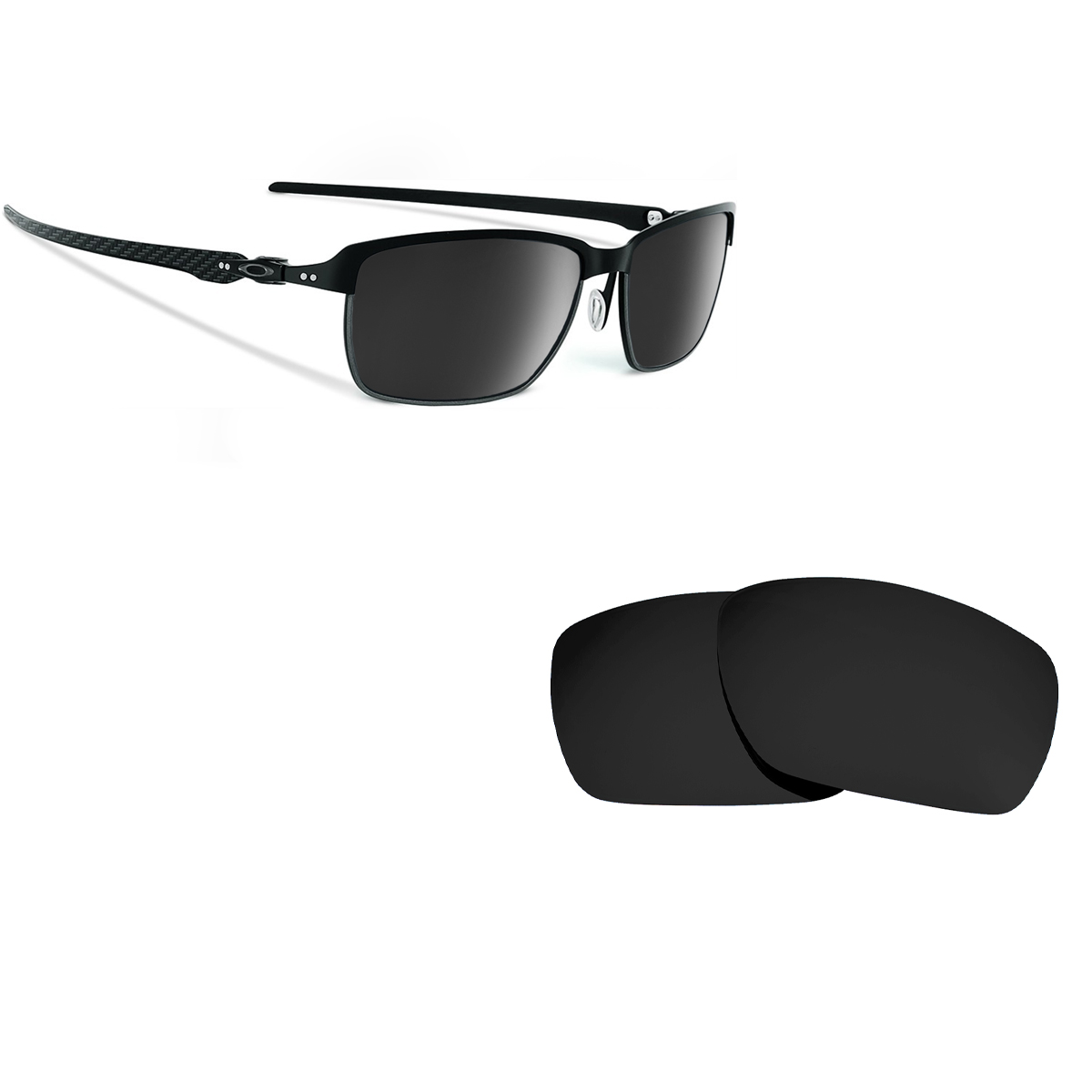 2bc7e8c501 Tinfoil Carbon Replacement Lenses by SEEK OPTICS to fit OAKLEY ...