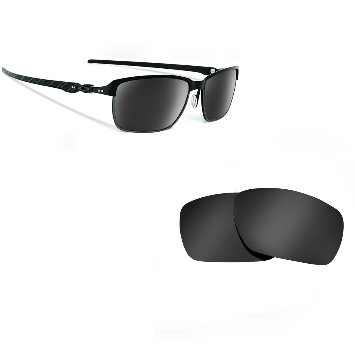 c0b0640ced Tinfoil Carbon Replacement Lenses by SEEK OPTICS to fit OAKLEY ...