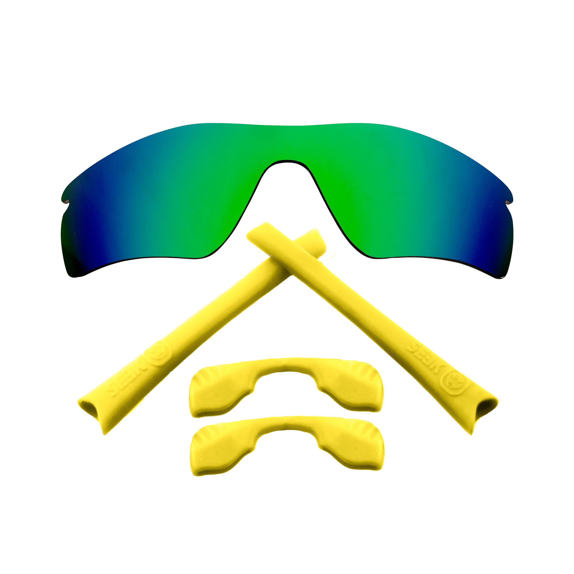 bf0de9fea30 RADAR PATH Polarized Lenses   Accessories Kit Green   Yellow by SEEK ...