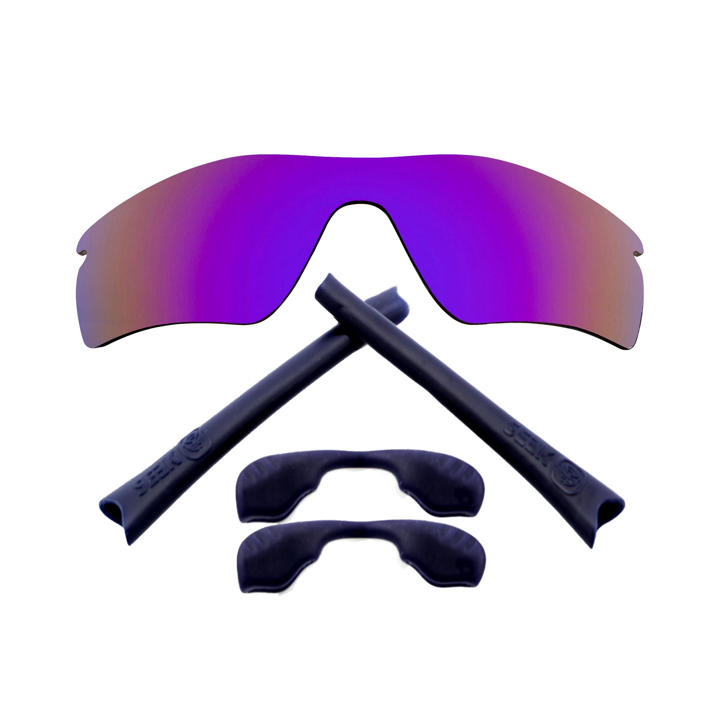 Radar Path Gläser Zubehörset Lila Spiegel Navy Blau Von Seek Passt Oakley Elegantes Und Robustes Paket Herren-accessoires Kleidung & Accessoires