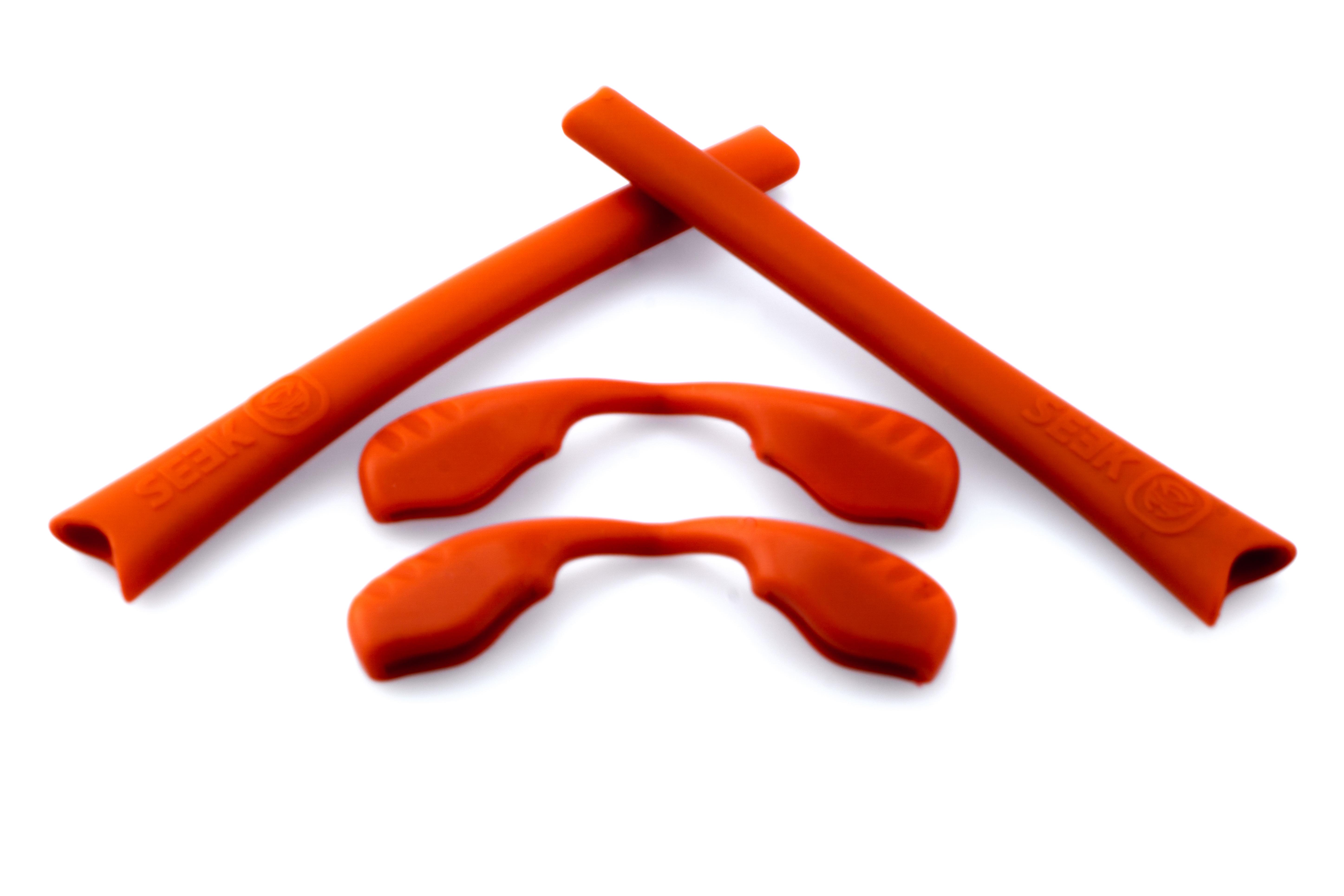 a53e48f6e4b RADAR EDGE Accessories Kit Earsocks Nosepads Red by SEEK fits OAKLEY ...