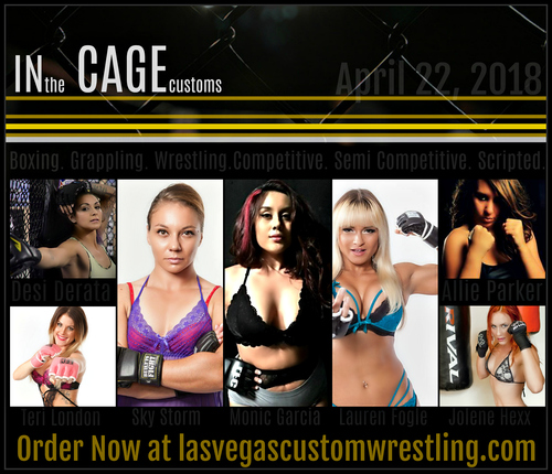 4.22.18 in the cage poster 5
