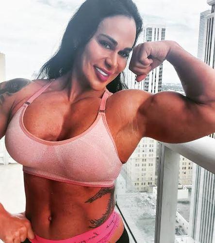 muscular goddess