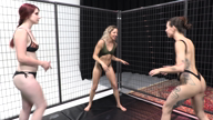 Ciren Verde & Lora Cross Wrestling Tutorial with model Autumn Ash