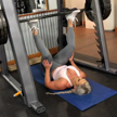 Inverted leg press