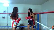 HAZEL ANNIE VS TOMIKO BOXING