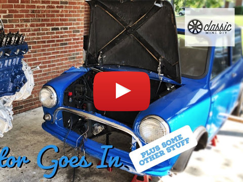 Classic Mini DIY: Operation Bad Wolf - The Motor Goes Back In