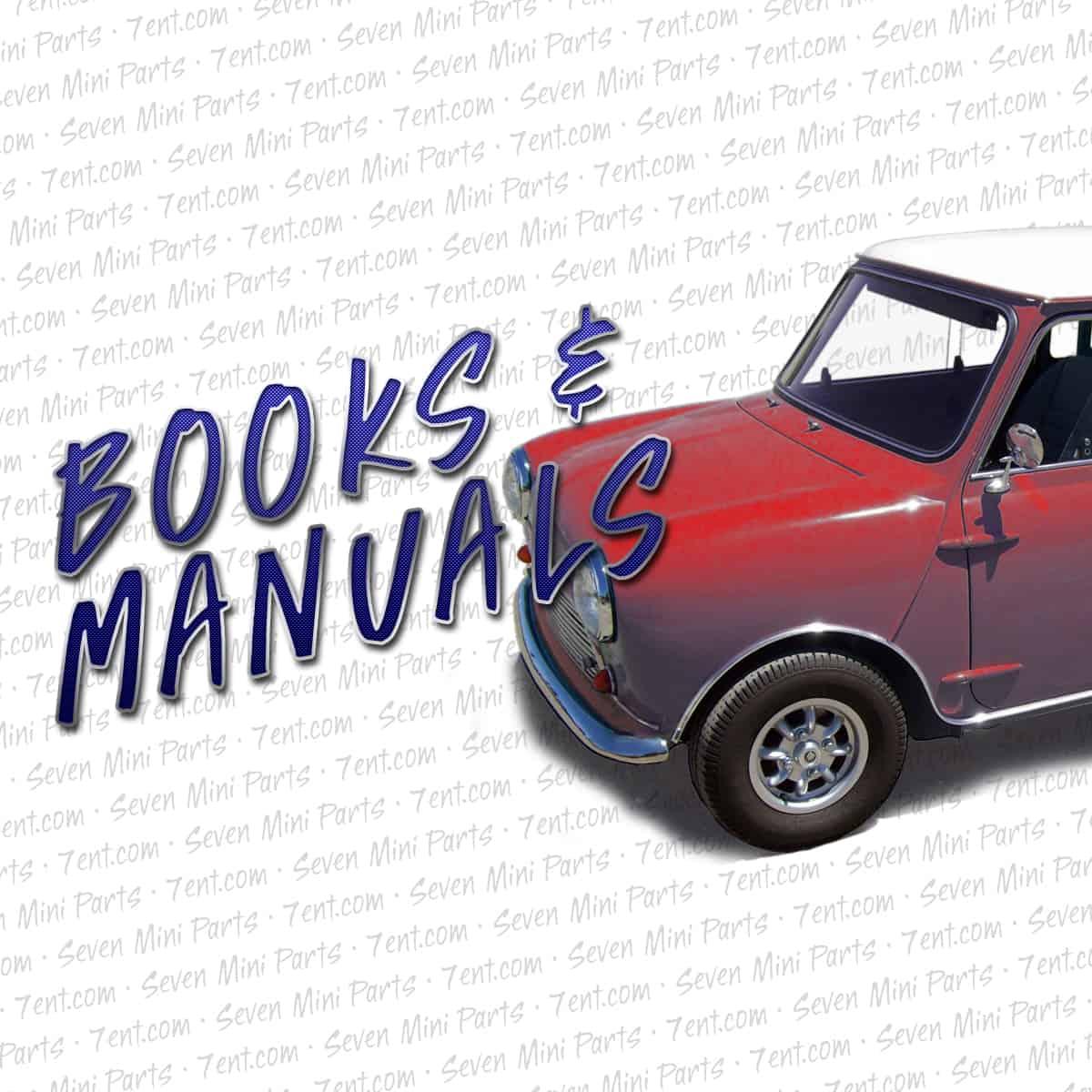 Mini Service Repair Workshop Manual All Models 1959 1976