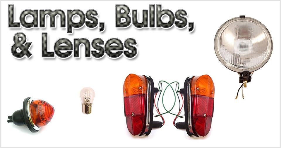 Lamps, bulbs, & lenses for the classic Mini