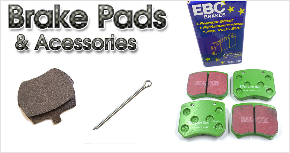 Brake pads & accessories for the classic Mini