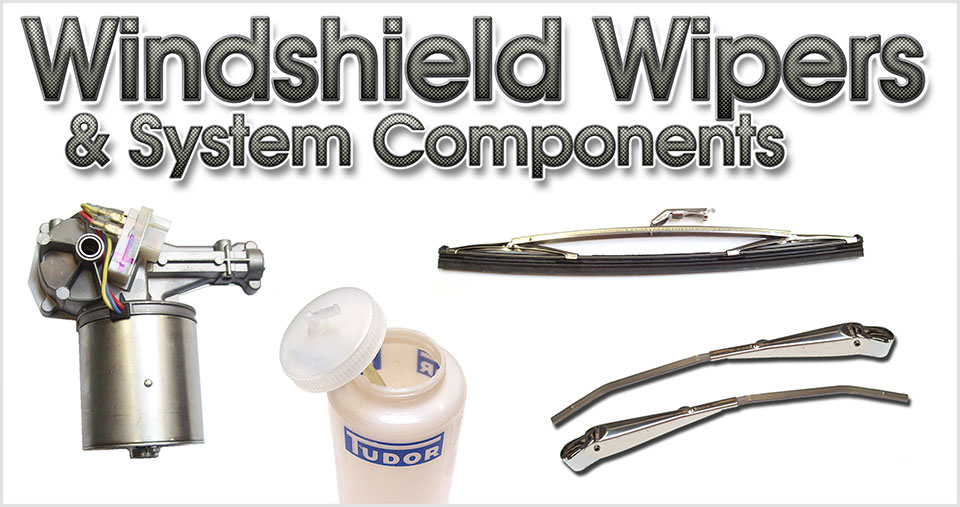 Windshield Wipers & System Components