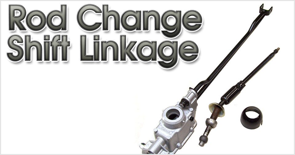 Rod Change Shift Linkage, Classic Mini