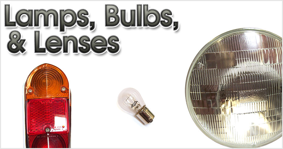 Lamps, Bulbs, & Lenses
