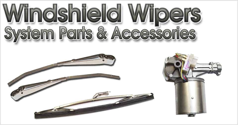 Wiper & washer system parts and accessories