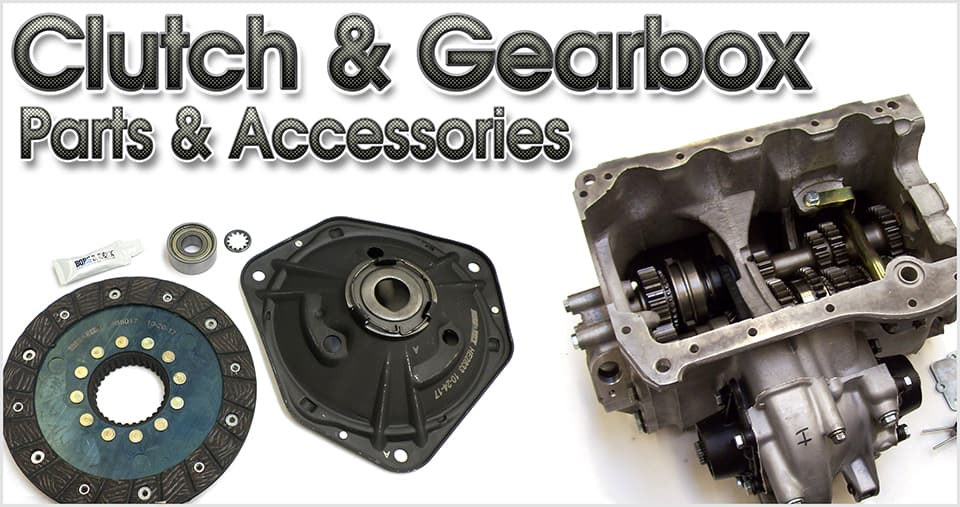 Clutch and gearbox parts for the classic Mini
