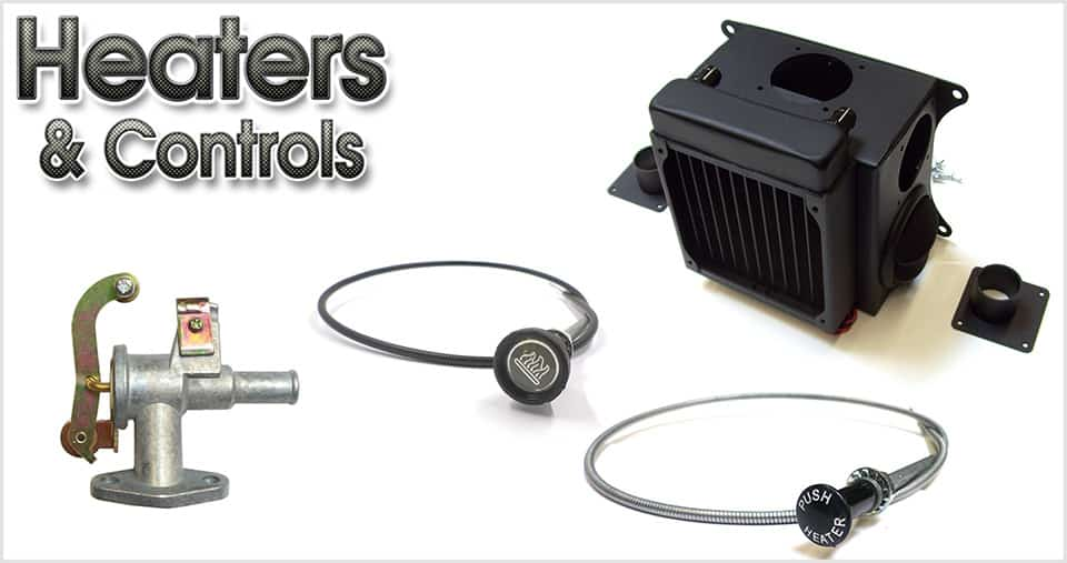 Heaters, controls & accessories for the classic Mini