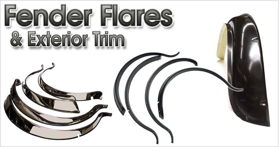 Classic Mini fender flares & exterior trim
