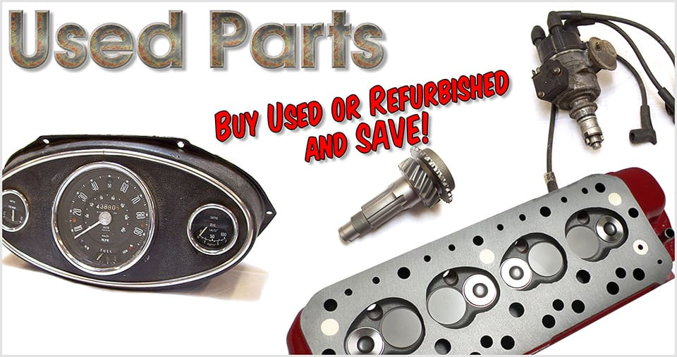 Used classic Mini parts & accessories