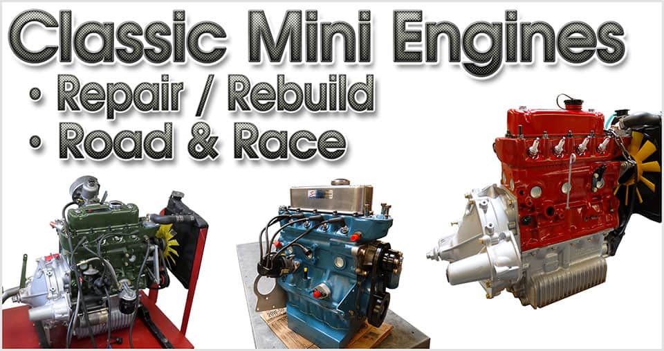 Classic Mini engines from Seven!