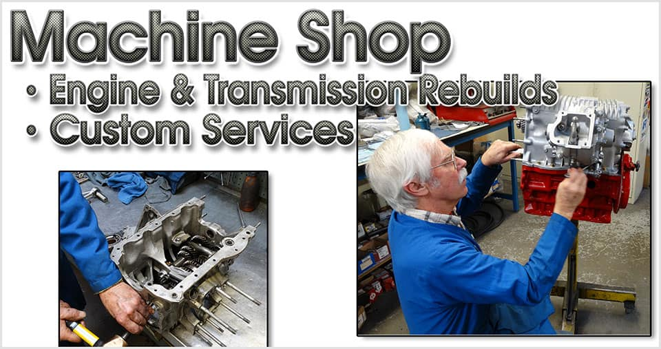 Custom machine shop services