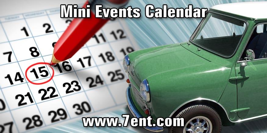 Mini Events Calendar - Colorado car show calendar