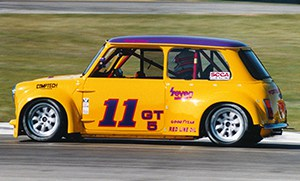 Car #12, the Yellow Fortech Mini