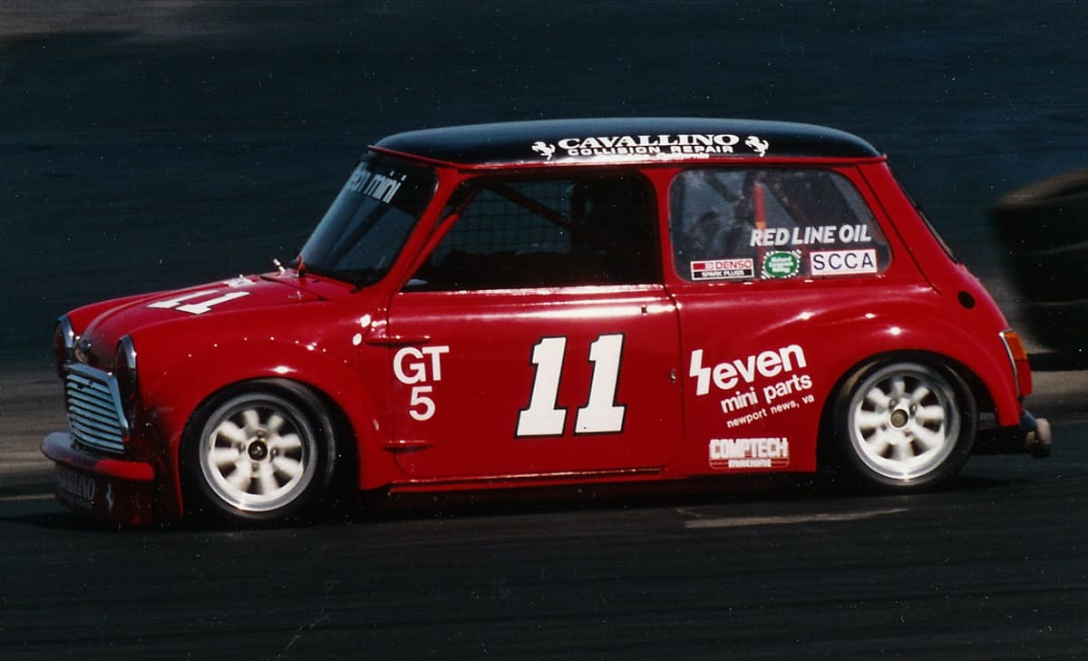 Fortech Racing Not Carrying The Gt4 Suspension Whether Disc Or Drum On Rear Car 8 Sears Point 1986