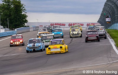 At the 2018 Watkins Glen Mini Festival Governors Cup Race