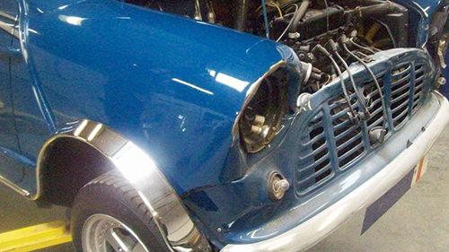 Accident repairs