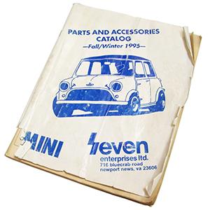 Seven's 1995 Mini Parts catalog