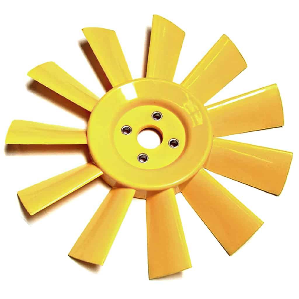 Fan, Plastic, 11-blade, Heritage
