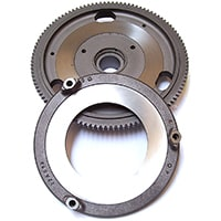 Pre-Verto Flywheel Assembly w/ Backplate, Reconditioned
