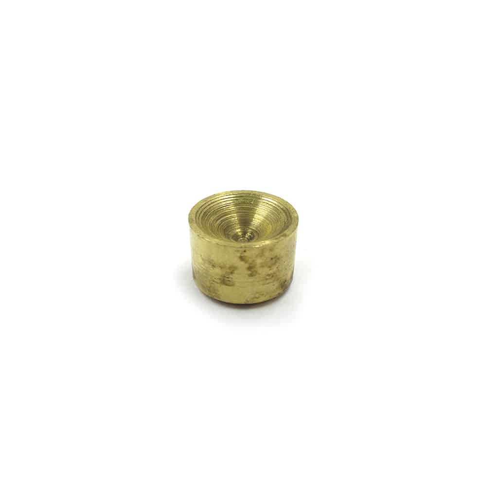 Oil Galley Plug, Brass, 0.50""