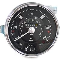 Speedometer, Cooper S, 130mph, Smiths, Black
