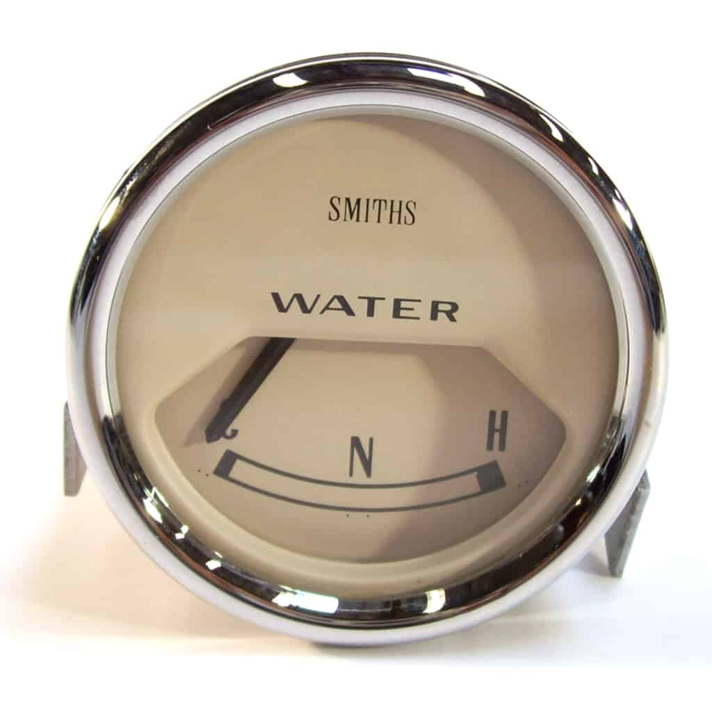 Water Temperature Gauge, Mk2-on, Smiths, Magnolia